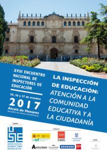 Cartel Encuentro Alcala Inspectores USIE completo