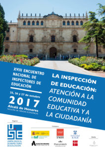 Cartel Encuentro Inspección Alcalá 2017 USIE